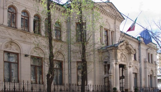 VILLA BERG , the ITALIAN EMBASSY in MOSCOW
