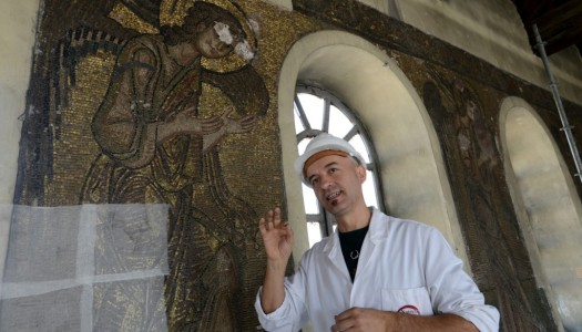 The Record – Restorer: Working on Church of Nativity like touching piece of history