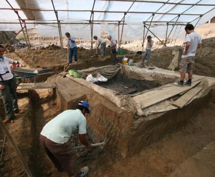 tempio scavo
