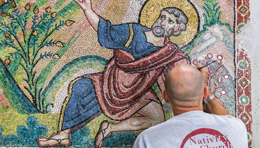 The Gazette – Bethlehem shrine's treasures being restored