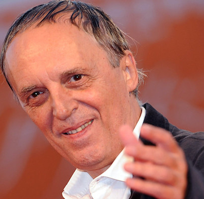 Italian guest director Dario Argento poses during the premiere for the movie 'Barney's Version' at the 67th annual Venice Film Festival in Venice, Italy, 10 September 2010. The movie by Canadian director Richard J. Lewis is presented  in the International competition 'Venezia 67' at the festival running from 01 to 11 September 2010. ANSA/CLAUDIO ONORATI