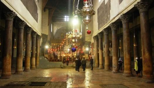 Gonews – Alla scoperta della Basilica della Natività: incontro con i restauratori che scoprirono il 'settimo angelo'